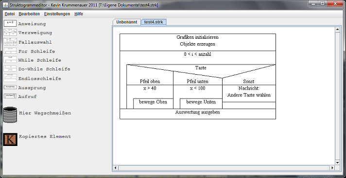 struktogramm editor 1.7